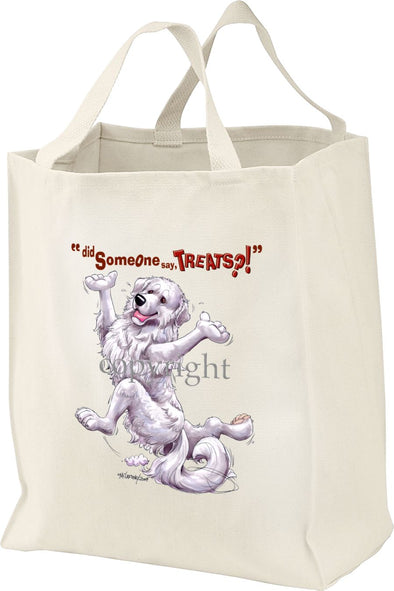 Great Pyrenees - Treats - Tote Bag