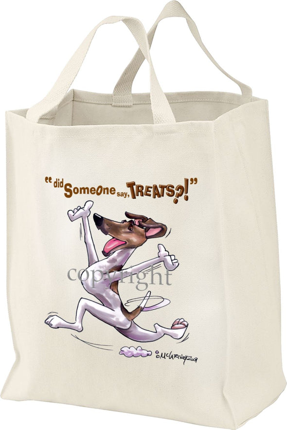 Smooth Fox Terrier - Treats - Tote Bag