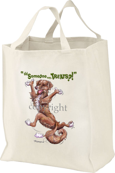 Nova Scotia Duck Tolling Retriever - Treats - Tote Bag