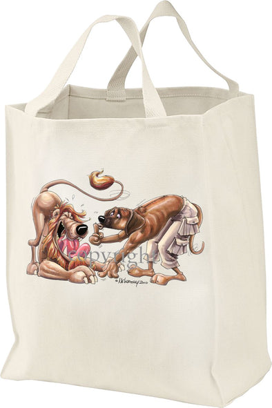 Rhodesian Ridgeback - Shooshing Lion - Mike's Faves - Tote Bag