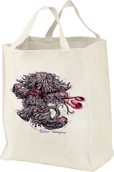 Puli - Happy Dog - Tote Bag