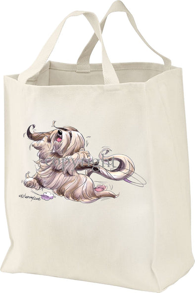 Lhasa Apso - Happy Dog - Tote Bag