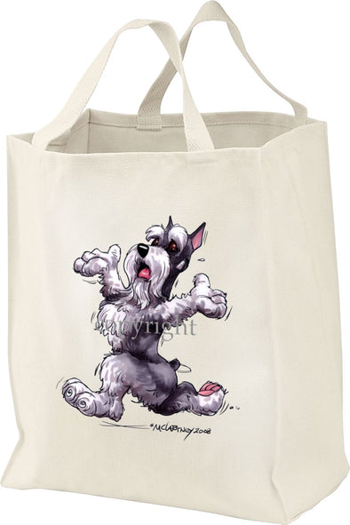 Schnauzer - Happy Dog - Tote Bag