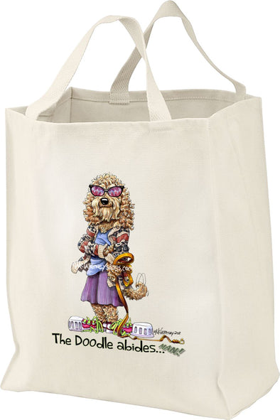 Labradoodle - Dude - Mike's Faves - Tote Bag