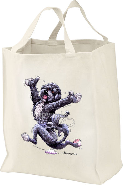 Portuguese Water Dog - Happy Dog - Tote Bag