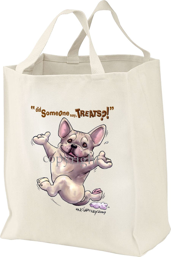 French Bulldog - Treats - Tote Bag
