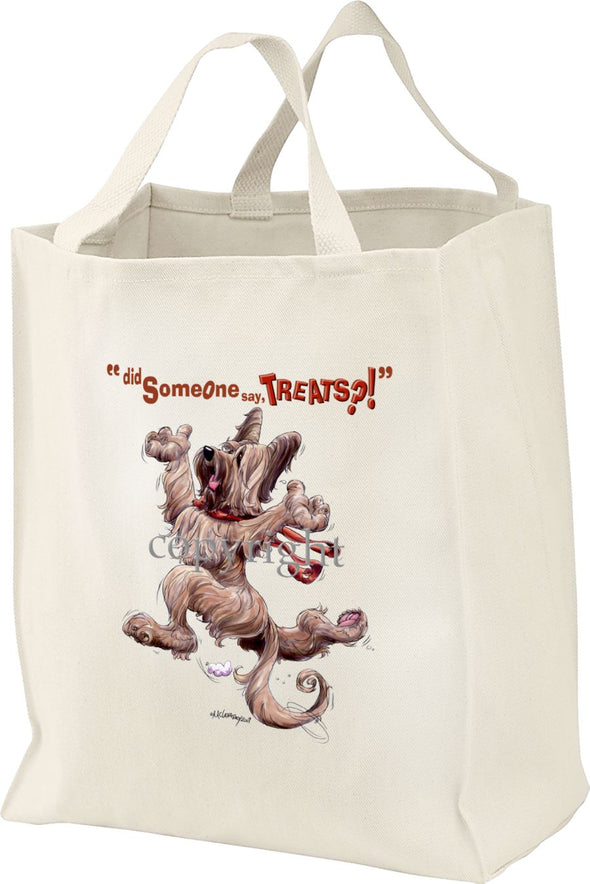 Briard - Treats - Tote Bag