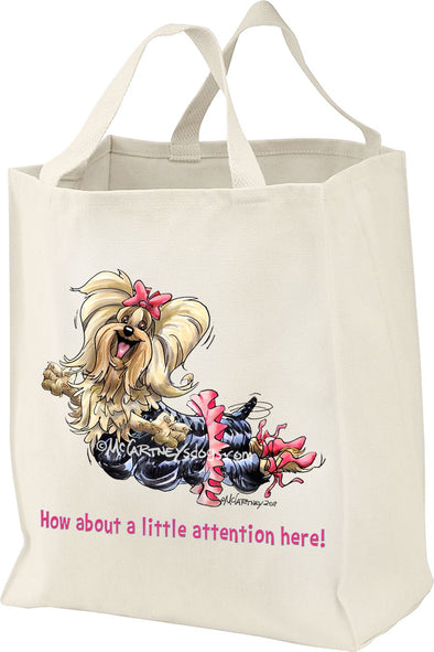 Yorkshire Terrier - Little Attention - Mike's Faves - Tote Bag