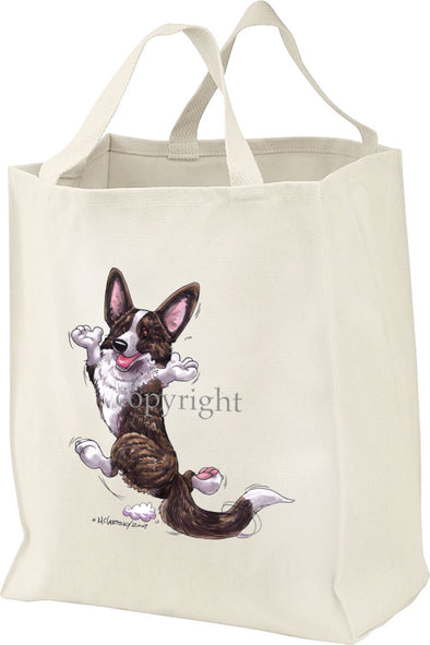 Welsh Corgi Cardigan - Happy Dog - Tote Bag