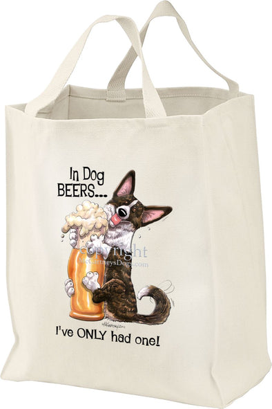 Welsh Corgi Cardigan - Dog Beers - Tote Bag