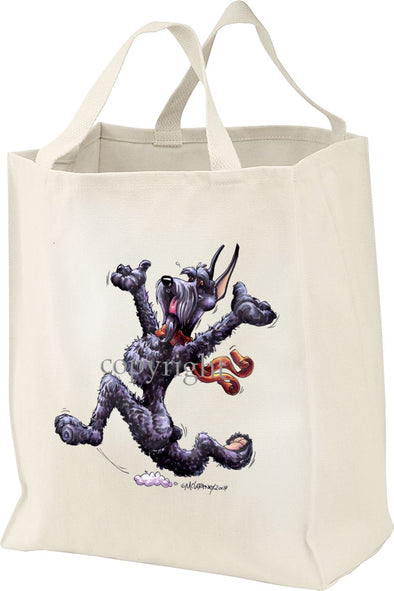 Giant Schnauzer - Happy Dog - Tote Bag