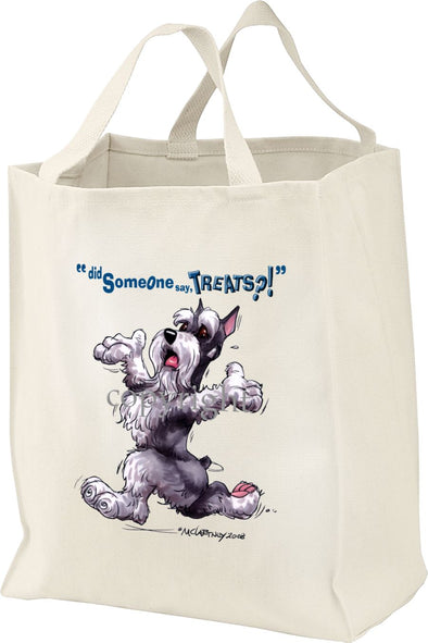 Schnauzer - Treats - Tote Bag