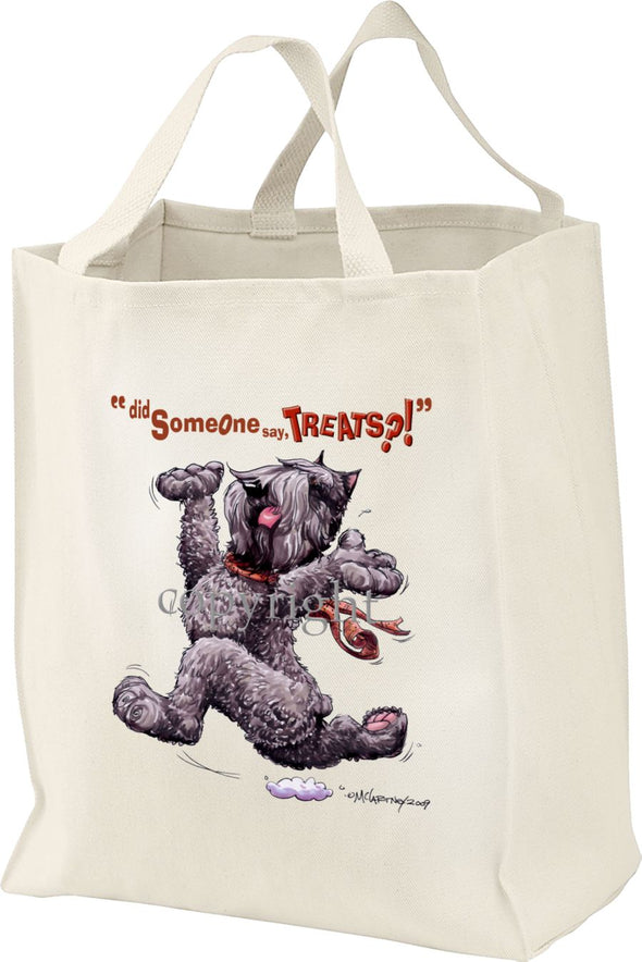Bouvier Des Flandres - Treats - Tote Bag