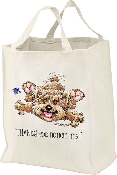 Norwich Terrier - Noticing Me - Mike's Faves - Tote Bag
