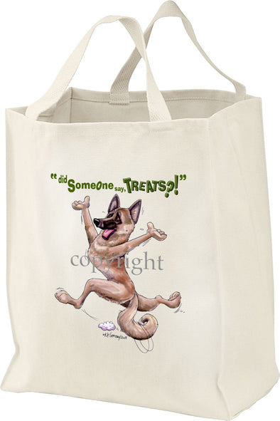 Belgian Malinois - Treats - Tote Bag