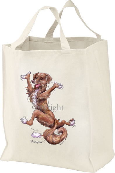 Nova Scotia Duck Tolling Retriever - Happy Dog - Tote Bag