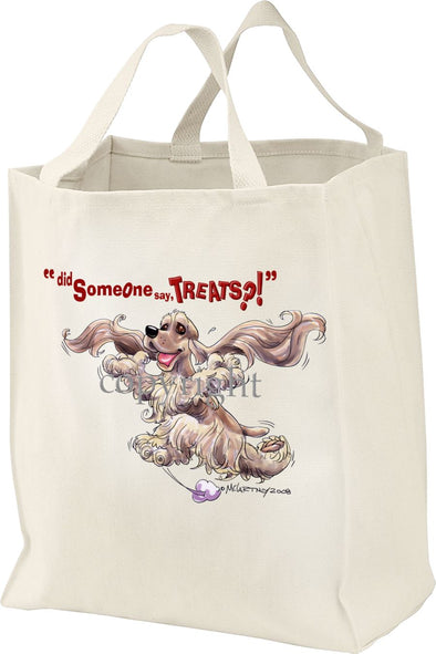 Cocker Spaniel - Treats - Tote Bag