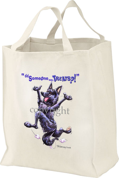 Belgian Sheepdog - Treats - Tote Bag