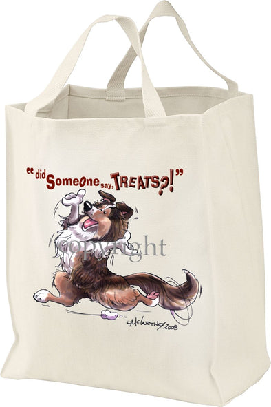 Shetland Sheepdog - Treats - Tote Bag