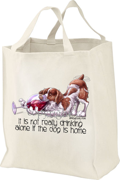 Brittany - It's Not Drinking Alone - Tote Bag