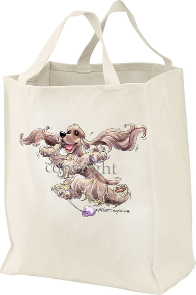 Cocker Spaniel - Happy Dog - Tote Bag