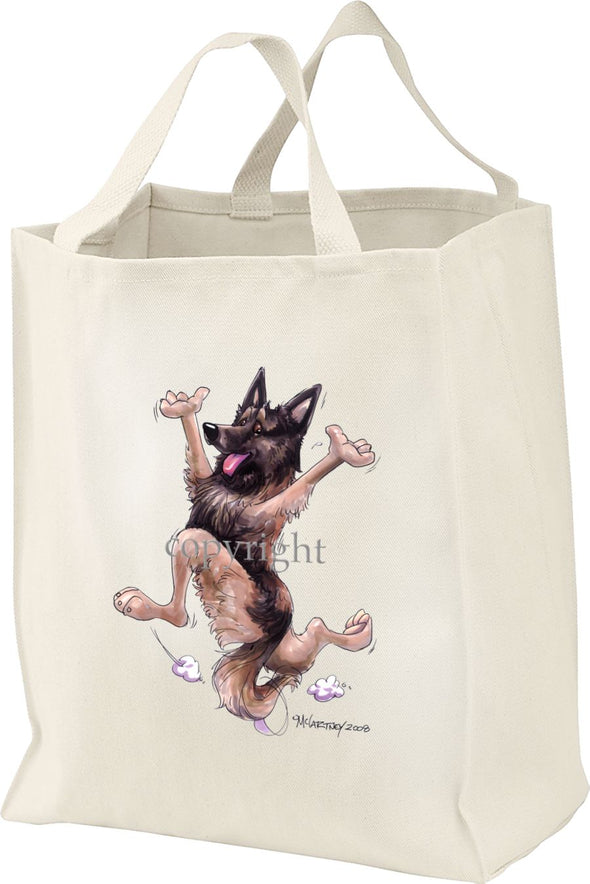 Belgian Tervuren - Happy Dog - Tote Bag