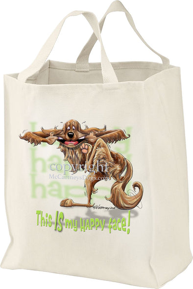 Irish Setter - Who's A Happy Dog - Tote Bag