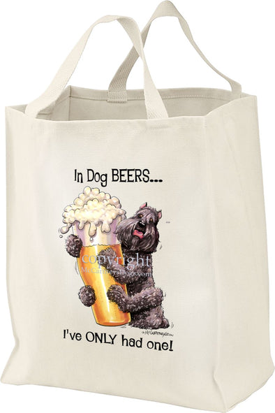 Bouvier Des Flandres - Dog Beers - Tote Bag