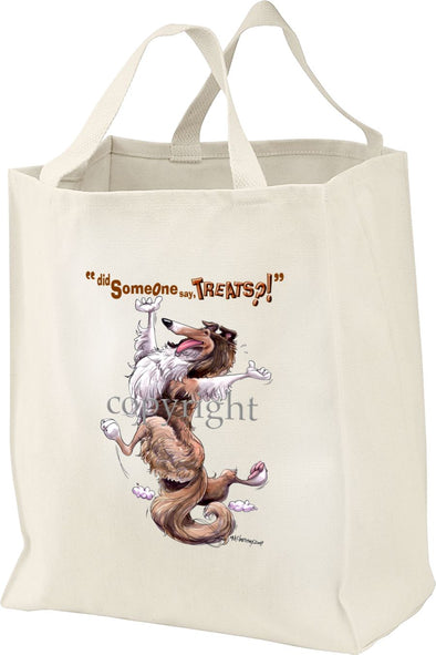 Collie - Treats - Tote Bag
