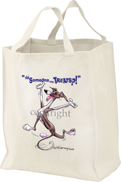 Italian Greyhound - Treats - Tote Bag