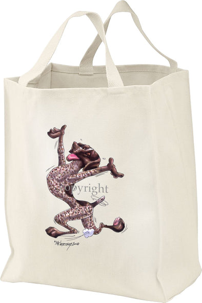 German Shorthaired Pointer - Happy Dog - Tote Bag