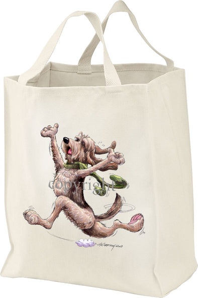 Otterhound - Happy Dog - Tote Bag
