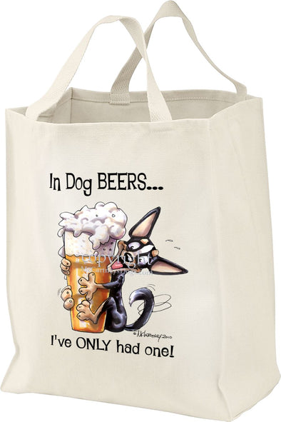 Chihuahua  Smooth - Dog Beers - Tote Bag
