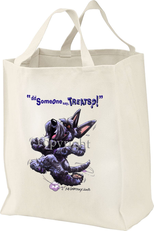 Scottish Terrier - Treats - Tote Bag