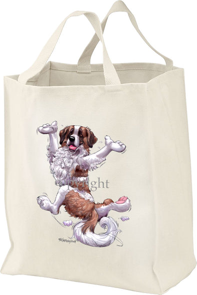 Saint Bernard - Happy Dog - Tote Bag