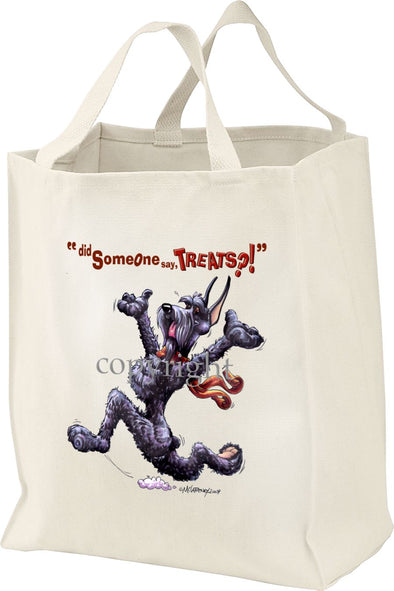 Giant Schnauzer - Treats - Tote Bag