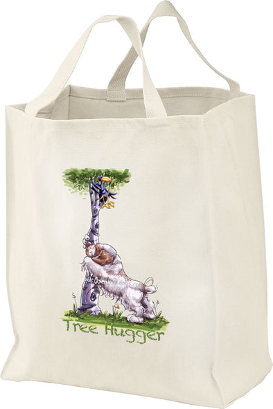Clumber Spaniel - Tree Hugger - Mike's Faves - Tote Bag