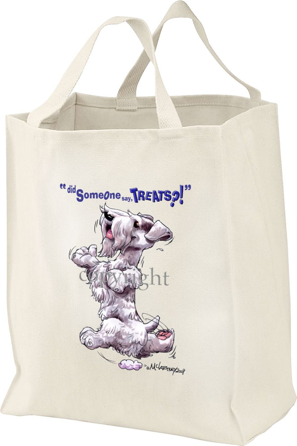 Sealyham Terrier - Treats - Tote Bag