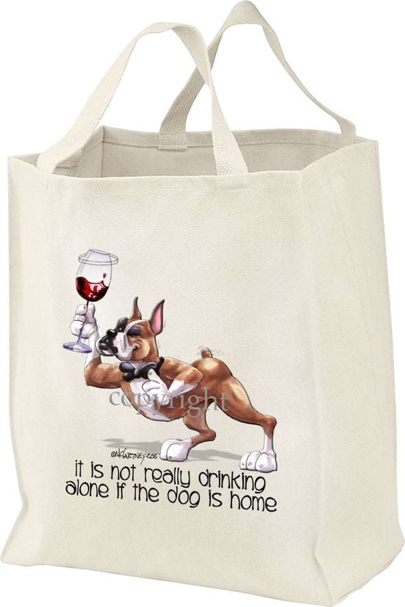 Boxer - It's Not Drinking Alone - Tote Bag