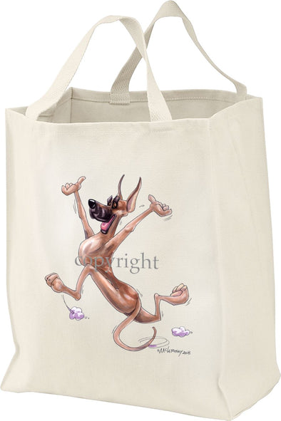 Great Dane - Happy Dog - Tote Bag