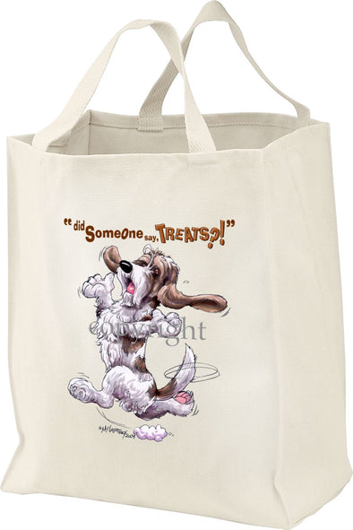 Petit Basset Griffon Vendeen - Treats - Tote Bag