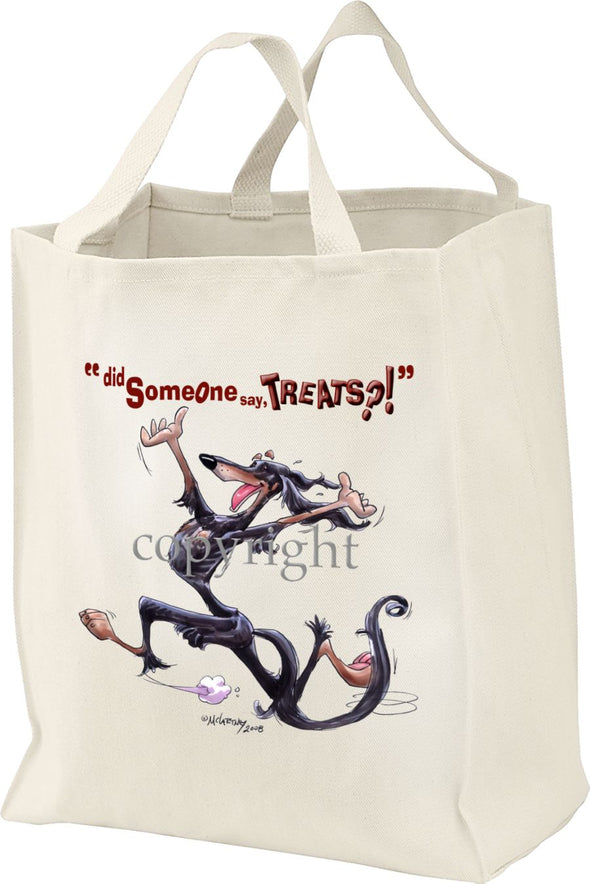 Saluki - Treats - Tote Bag