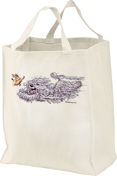 Komondor - Chasing Rabbit - Mike's Faves - Tote Bag