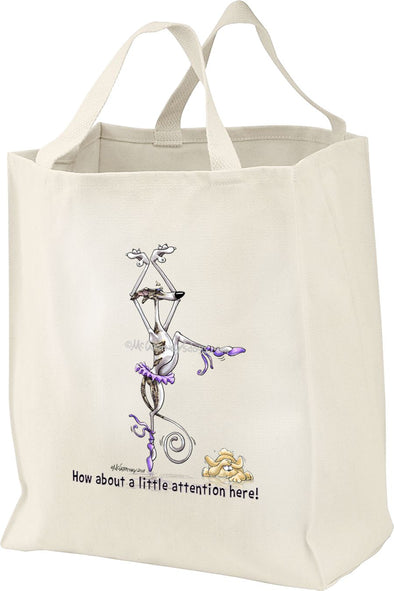 Whippet - Little Attention - Mike's Faves - Tote Bag