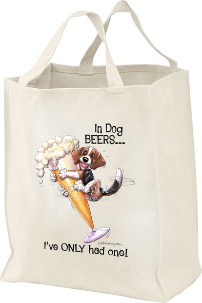 Beagle - Dog Beers - Tote Bag