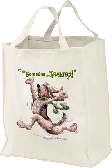 Otterhound - Treats - Tote Bag