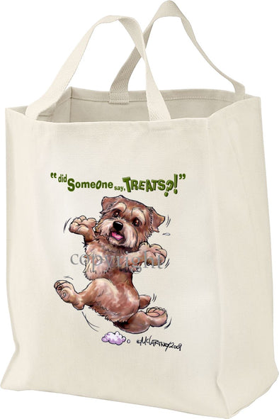 Norfolk Terrier - Treats - Tote Bag