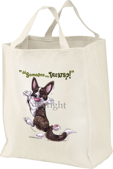 Welsh Corgi Cardigan - Treats - Tote Bag