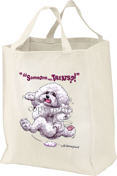Bichon Frise - Treats - Tote Bag