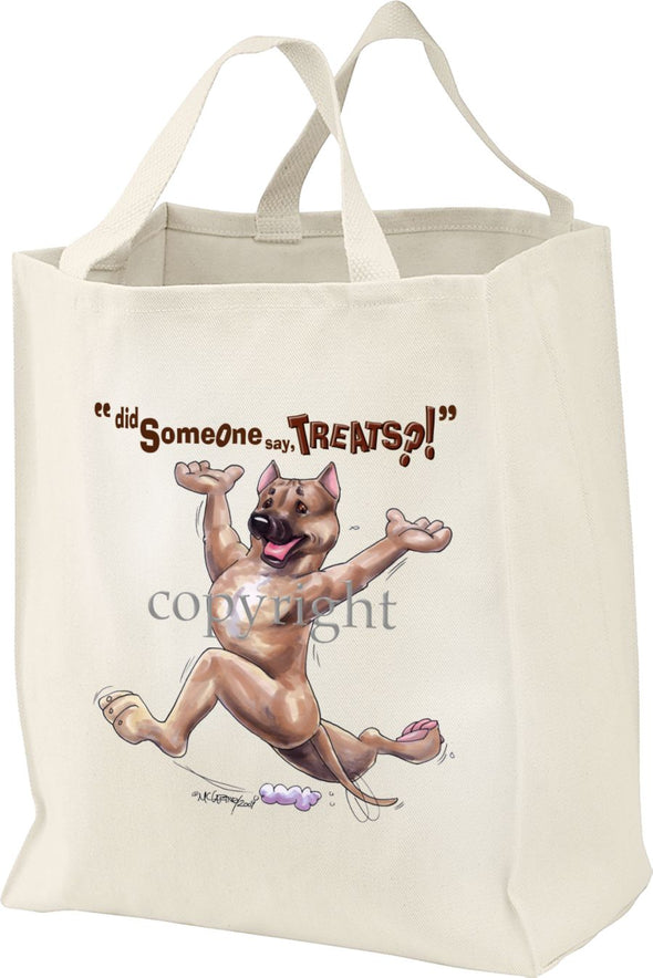 American Staffordshire Terrier - Treats - Tote Bag